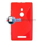 Silicone Nokia Lumia 925 Rouge