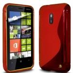 Silicone Nokia Lumia 620 Rouge pour Nokia