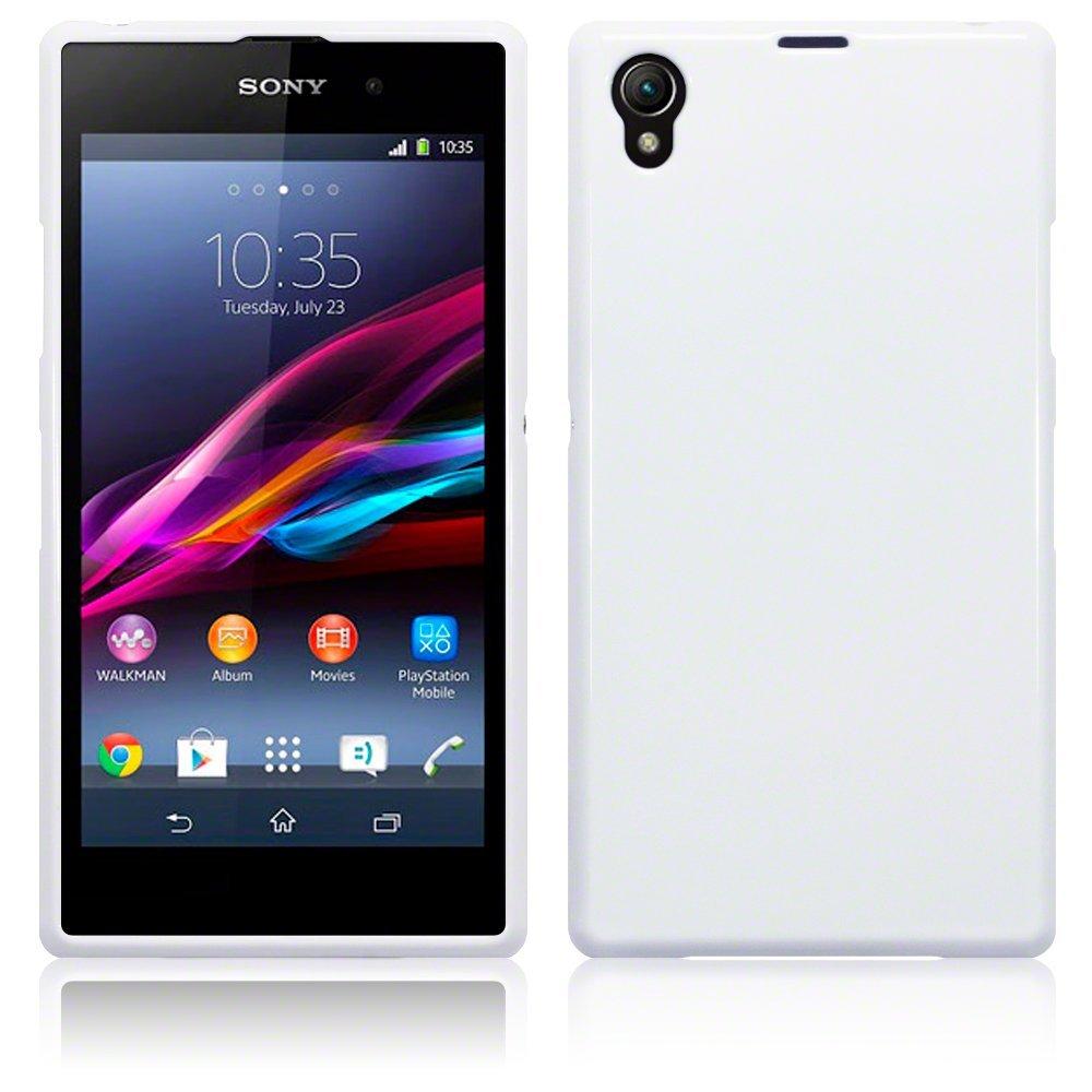 buy White S-Line Case for Sony Xperia Z1