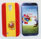 Silicone Samsung Galaxy S4 i9500 Drapeau Espagne pour Samsung