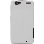 White Silicone Case Motorola Razr for Motorola