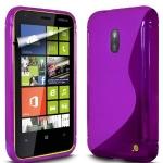 Silicone Nokia Lumia 620 violet pour Nokia