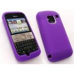 Etui Silicone Violet Nokia E5