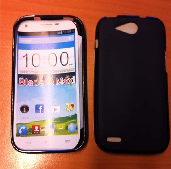 N-04EMicroAndroid zte q maxi France its least