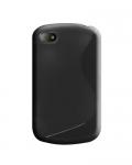 Silicone Blackberry Q10 Noir