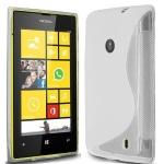 Silicone Nokia Lumia 520 Blanche pour Nokia