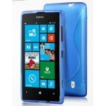 Silicone Nokia Lumia 520 Bleu pour Nokia