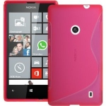 Pink S-Line Case for Nokia Lumia 520