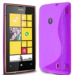 Silicone Nokia Lumia 520 Violet pour Nokia