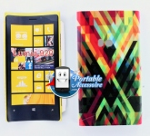 Silicone Nokia Lumia 920 Motif Traits colorés