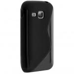Silicone Samsung C3310 Player Mini 2 Noir
