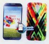 Silicone Samsung Galaxy S4 i9500 Motif Traits colorés pour Samsung