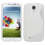 silicone Samsung Galaxy S4 i9500 blanc pour Samsung
