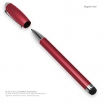 2 in 1 pen and stylus red