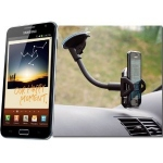Car Kit Holder with Flexible Windscreen Mount for Samsung Galaxy Note N7000 for Samsung