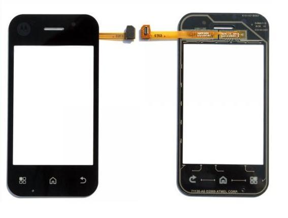 acheter Ecran Tactile + Vitre de Protection Motorola Flipback MB300