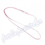 Stylish Neck Strap for Cell Phones and Gadgets (Pink) for Samsung