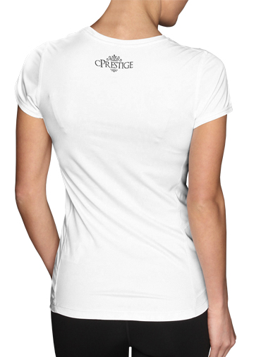 Women T-shirt short sleeve round neck