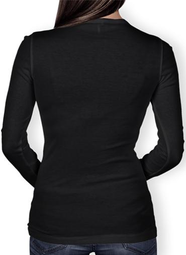 T-Shirt femme manche longue