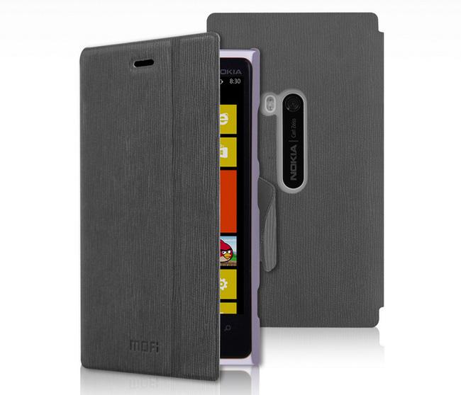 etui folio cuir gris nokia lumia 920 housse portefeuille avec porte cartes pour nokia lumia 920