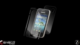 Zagg Invisible Shield pour Samsung Galaxy Ace S5830 - Film de protection integral Full Body