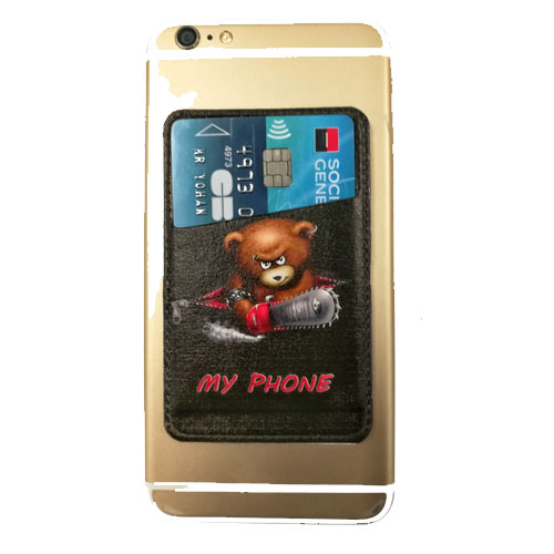 Adhesive Slot Card Hoesje voor Iphone 6 4.7