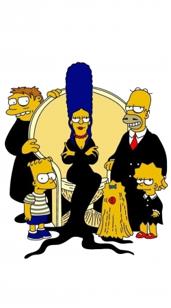 Adams Familly x Simpsons