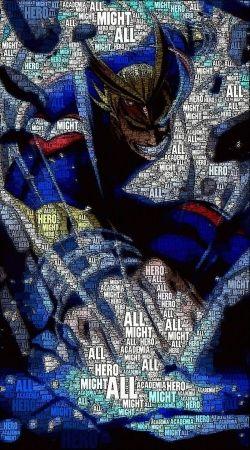 All Might Toshinori Word Art