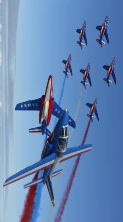 Alpha Jet Dassaut Avion Patrouille de France