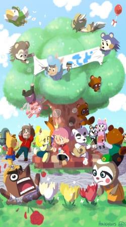 Animal Crossing Artwork Fan