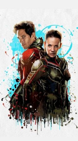 Antman and the wasp Art Painting