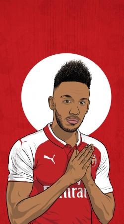 Aubameyang Arsenal scorer
