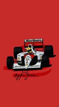 Ayrton Senna Formule 1 King