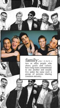 Backstreet Boys family fan art