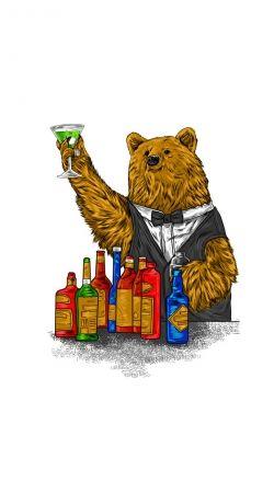 Bartender Bear