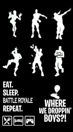 Battle Royal FN Eat Sleap Repeat Dance