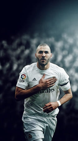 Benzema Aquarelle Art