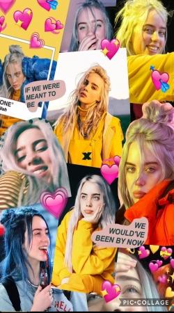 billie eilish collage