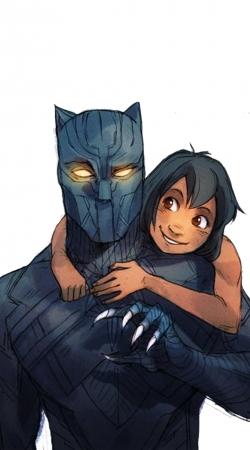 Black Panther x Mowgli