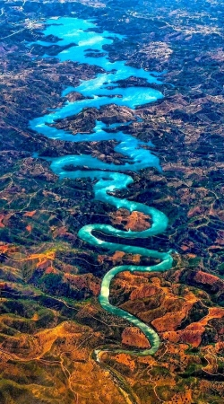 Blue dragon river portugal