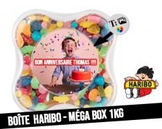 Custom 1KG Haribo Candy Boxes