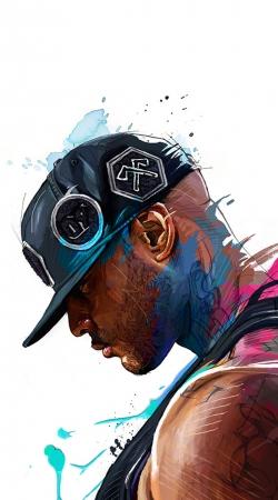 Booba Fan Art Rap