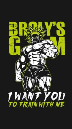 Broly Training Gym