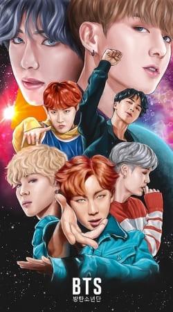 BTS DNA FanArt