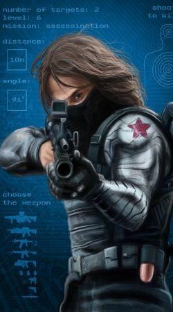 Bucky Barnes Aka Winter Soldier