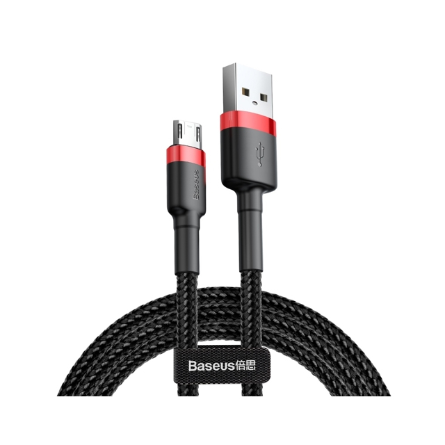 Micro USB Cable QC 3.0 Nylon 2.4A 0.5M