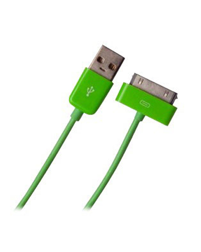 USB Sync Data Charging Cable For iPod iPhone 4/4S iPad2/3 Greeb