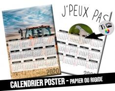 A3 Photo Calendar 30x43cm