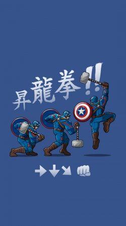 Captain America - Thor Hammer