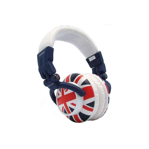 Union Jack Stereo Headophones